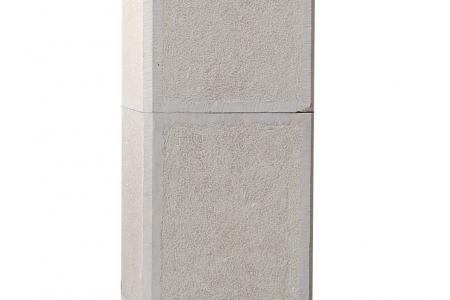Pillar Galicia - Bush Hammered, chiseled edges