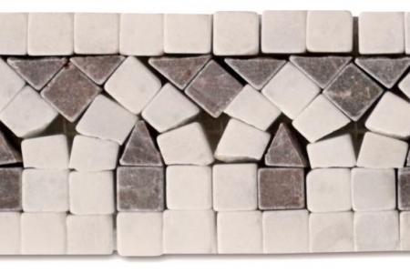 Afyon white / coffee marble