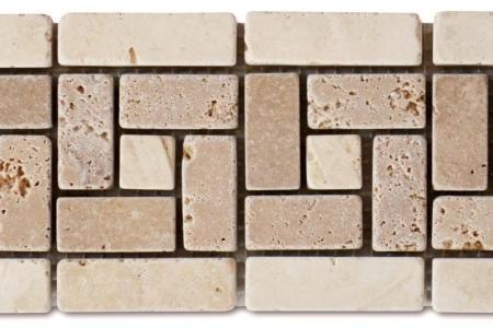 Noce travertine / Beige marble
