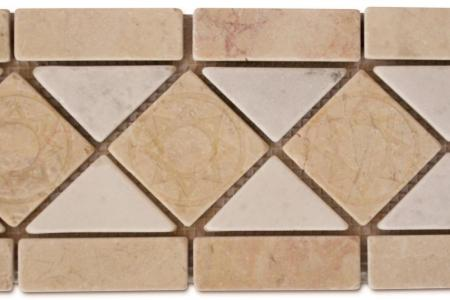 Beige marble / Afyon white
