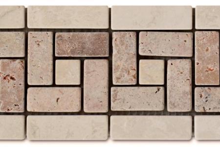 Arizona travertine / beige marble