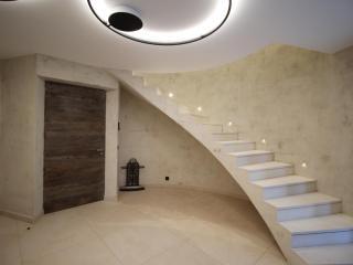 Dallage et escalier Moléanos - Finition adoucie