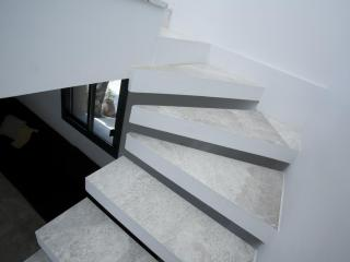Escalier Marbre argent