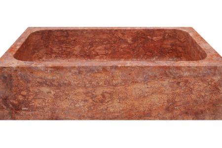 Red travertine - 1 Bowl