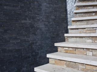 Escalier Travetin beige