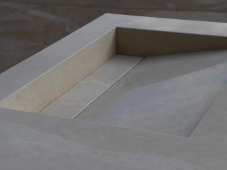 Vasque Gizli sur-mesure Marbre beige BB